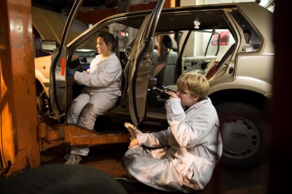 Car Deconstruction, Dina Roncevic, Fierce 2014, photo James Allan.